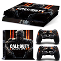 black ops 3 vinyl PVC skin sticker For PS4 console For palystation4 controller decal
