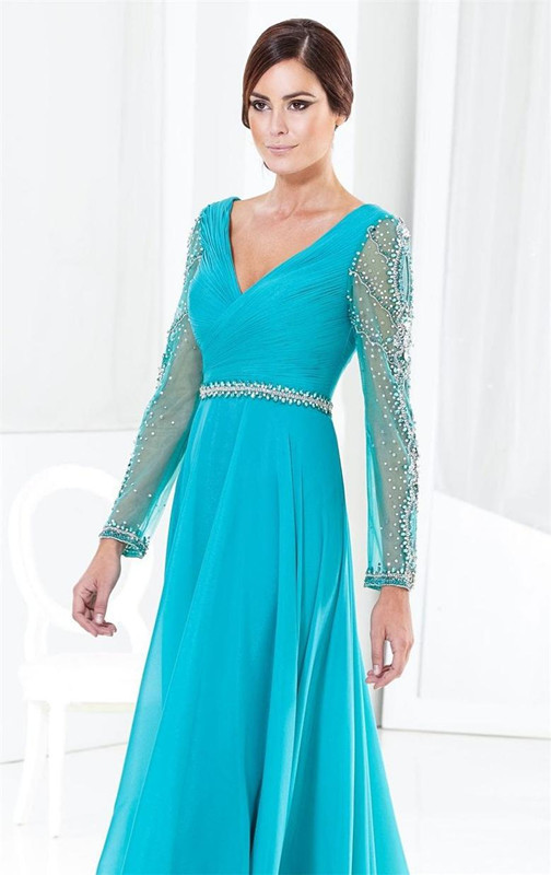 Buy light blue mother dresses 2015 christmas mother of bride gowns