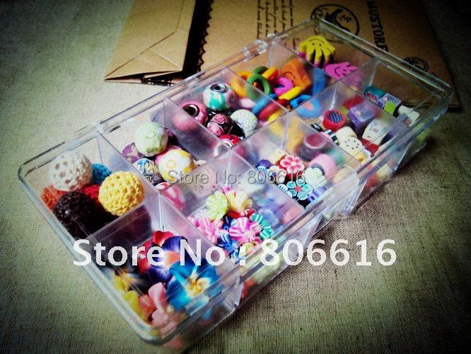 Promotion ~  142Pcs/Set Mixed Wire Cloth / Wooden Bead Clay Loose Beads DIY Jewelry Accessories<br><br>Aliexpress