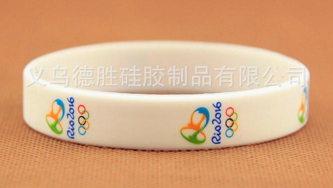 New arrival fashion jewelry bracelet Rio DE janeiro Olympic commemorative wristbands free shipping
