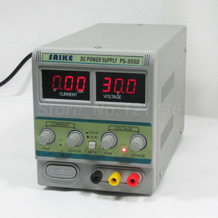SAIKE 305D Cellphone Repairs DC Adjustable power supply Voltage regulator Regulated power supply 30V 5A 220V <br>