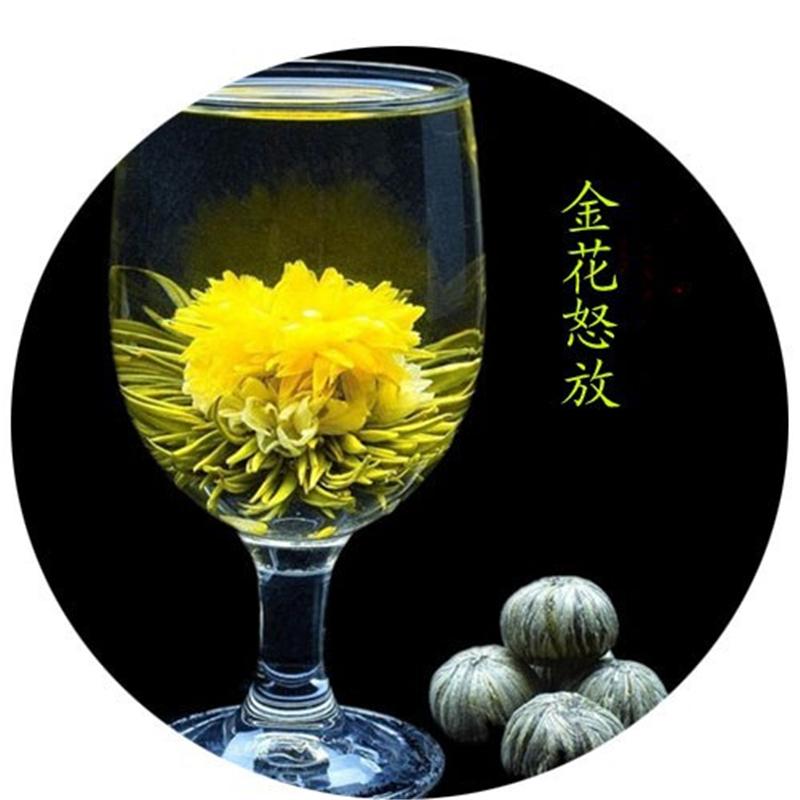 Hot Selling 145g 16 Kind Chinese Blooming Tea Health Drink Organic Flowers Tea 100 Original Tea