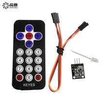 Buy Smart Electronics 10Pcs/lot Hot Sale Black Infrared IR Wireless Remote Control Module Kits arduino DIY Starter Kit for $7.70 in AliExpress store