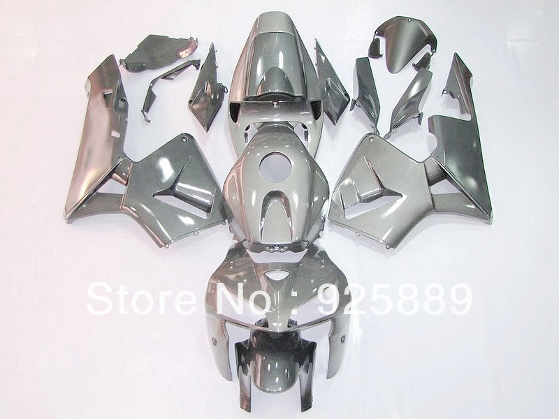 Injection molded gray fairings HONDA F5 CBR600RR 05 06 CBR600 05-06 CBR 600RR 2005-2006 600 RR 2005 2006 fairing e002 - DAKE store