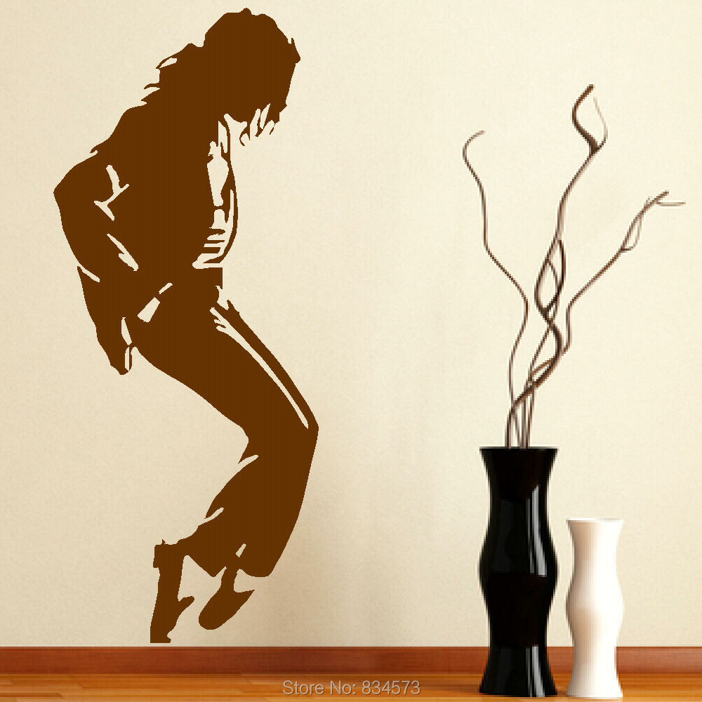Michaels Wall Decor Diy : Michael jackson jacko music icon wall art sticker decal