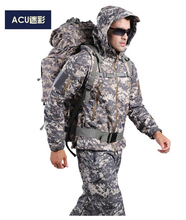 HOT TAD V 4.0 Men Outdoor Hunting Camping Waterproof Windproof Polyester Coats Jacket Hoody TAD softshell Jacket+pants(China (Mainland))