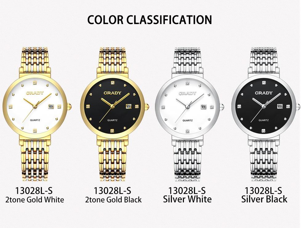 Черные часы для дамы водонепроницаемый кварцевые наручные часы мода женщины часы лучший бренд роскошные золотые часы Бесплатная Доставка
