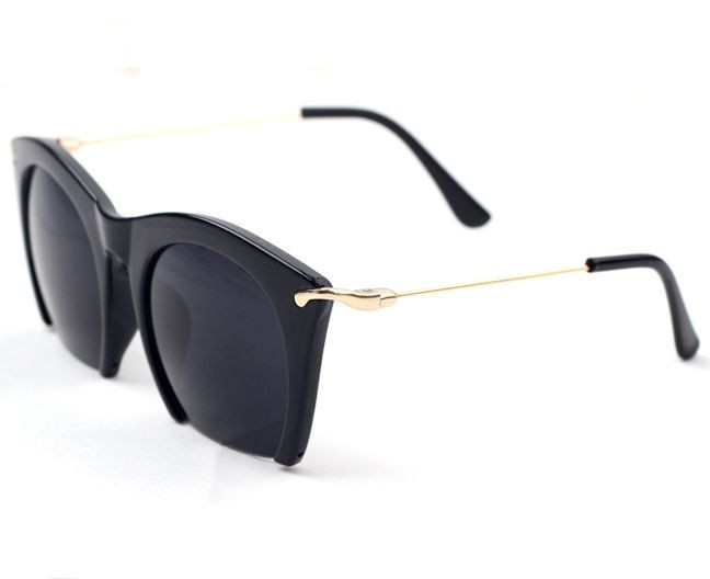 Brand-half-rim-Sunglasses-CAT-EYE-Sun-shades-lenses-Half ...