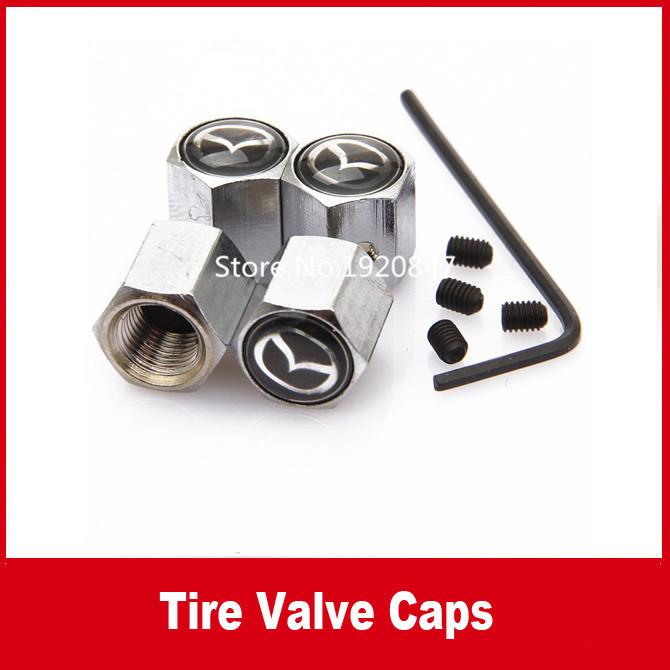 Mazda 2 3 5 6 mazda cx 5 Anti-theft valve cap(China (Mainland))