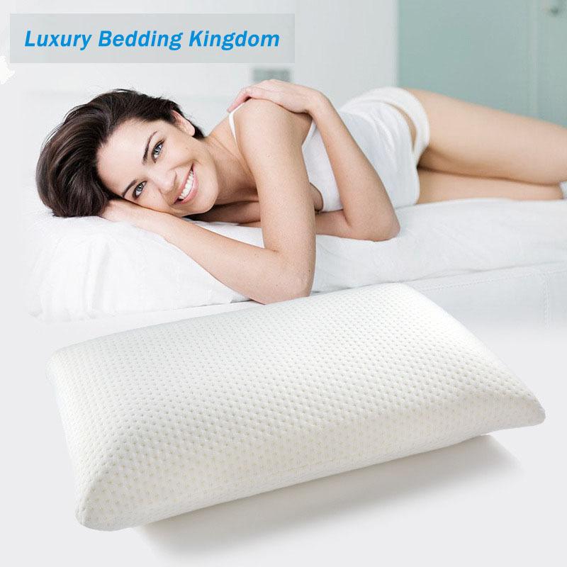 Memory Foam Space pillow Slow rebound memory foam throw pillows neck cervical healthcare pillows soft memory foam pillows(China (Mainland))