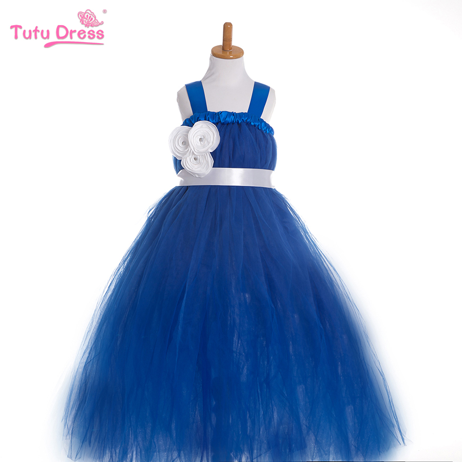 Fashion Summer Style Baby Fluffy Tulle Dress Wedding Flower Girl Dresses - TUTUDRESS official store