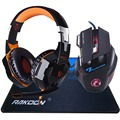 5500 DPI X7 Pro Gaming Mouse EACH G2000 Hifi Pro Gaming Headphone Game Headset Gift Big