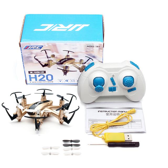 Профессия Дроны Quadcopter JJRC H20 2.4 Г 4CH 6 Ось 3D Опрокидывание Обезглавленный Модель Вертолет дрон Дистанционного Управления Дети игрушки