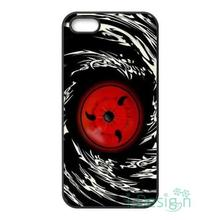 Fit for iPhone 4 4s 5 5s 5c se 6 6s 7 plus ipod touch 4/5/6 back skins cellphone case cover Naruto Dark Syaringan Cool