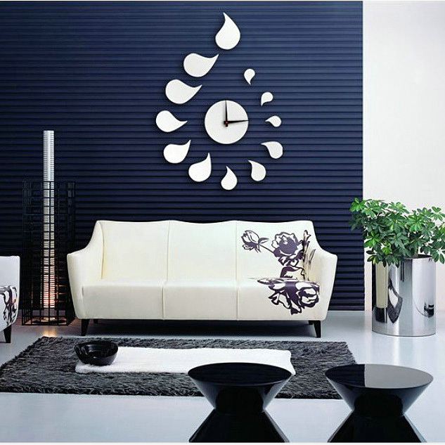 2014 3d Best Wall Art Clock Home Decoration Diy Crystal Mirror Wall Clock Children 39 S Wall Art