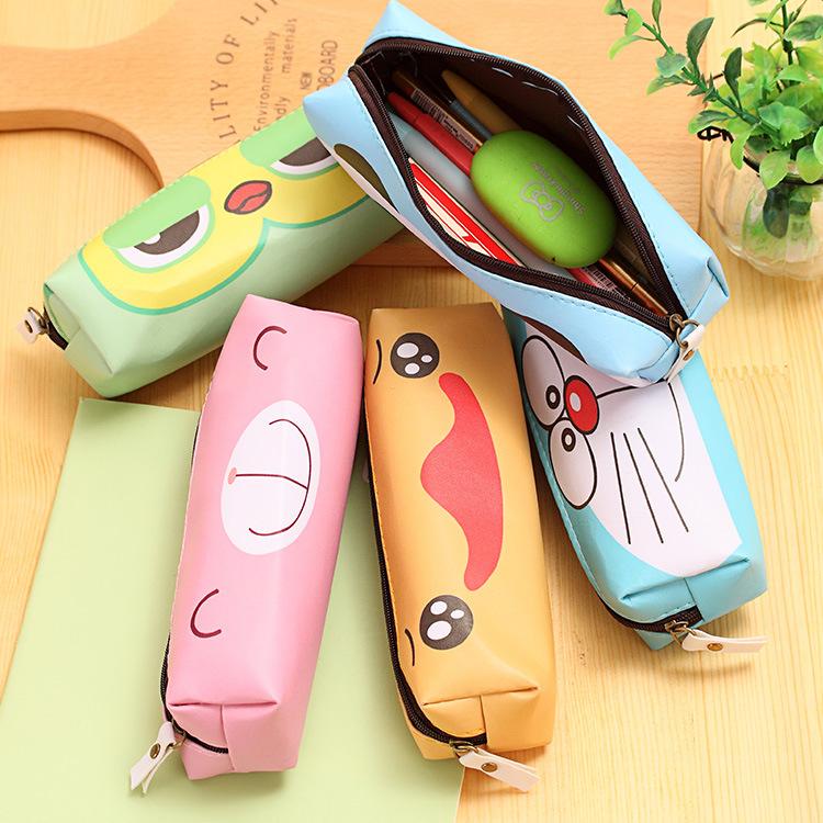 New Animal Pencil Bag For School Supplies Kawaii Organizador Bts Estuches School Stationery Pencilcase Pencil Box School Bags(China (Mainland))