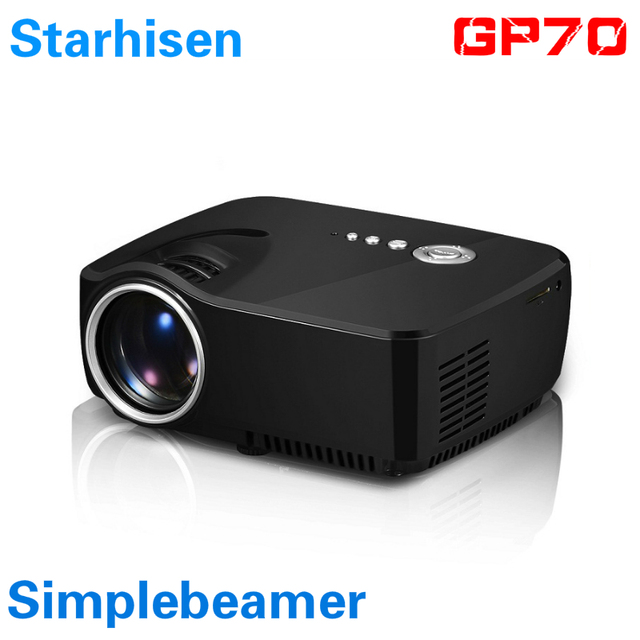 2016 newest starhisen gp70 simple beamer gp70 micro for Micro video projector