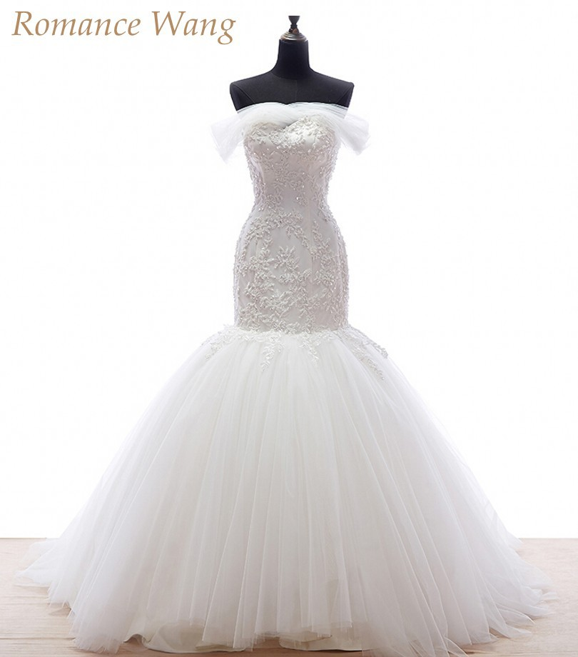 ... Robe De Mariee Trumpet Bridal Gowns -in Wedding Dresses from Weddings