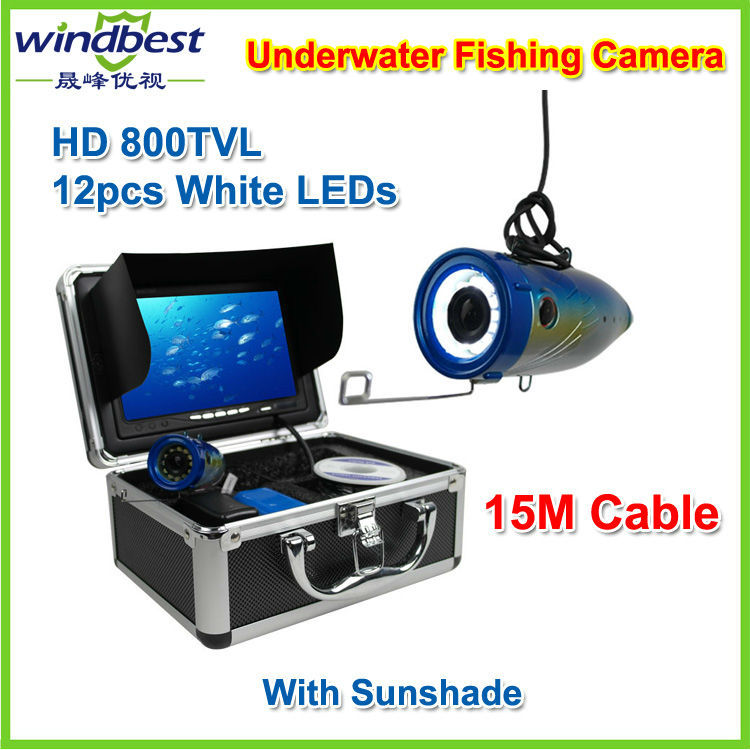 Как правильно пользоваться подводной камерой для рыбалки