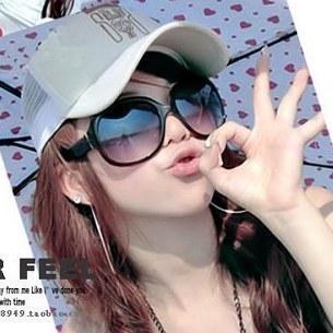 Hilton 2013 sunglasses sun glasses multi-color large sunglasses non-mainstream fashion sunglass female