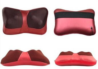 Car double massage device neck massage pillow massage car massage cushion, car pillow, car seat covers, headrest, seat cushion(China (Mainland))
