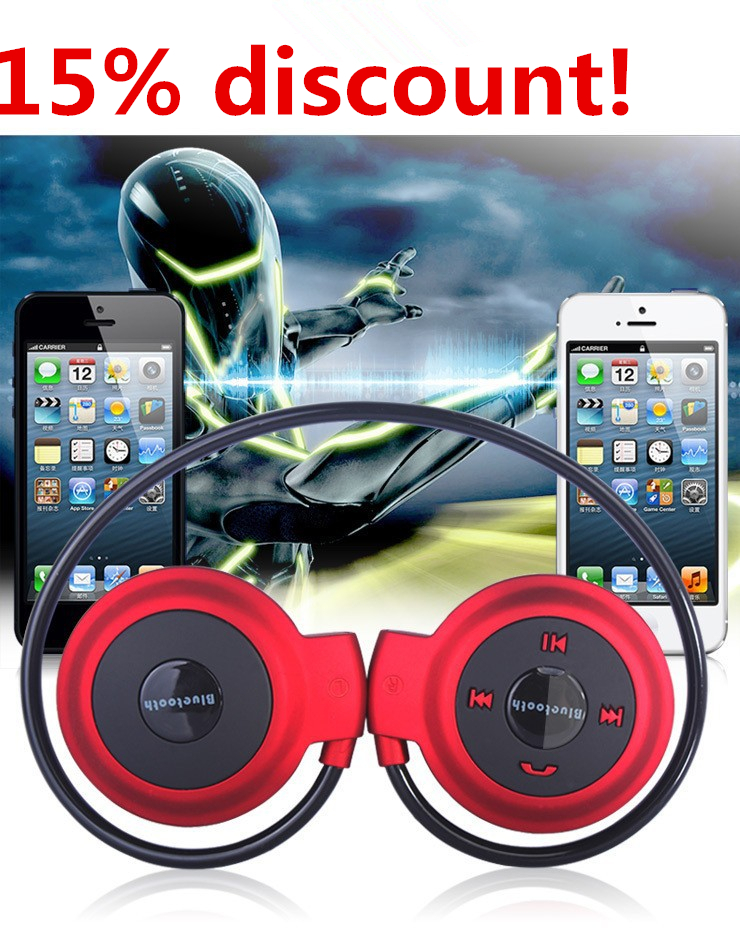 big 15% discount ! bluetooth headset headphone earpiece earphone 5 color for choice(China (Mainland))
