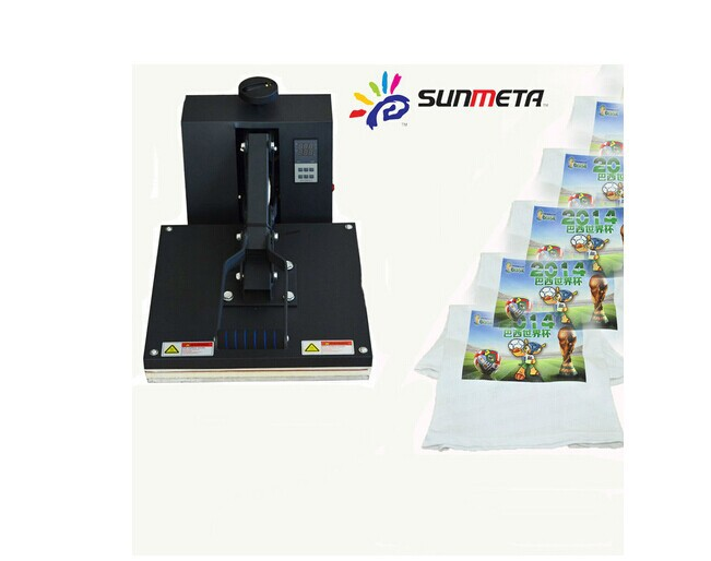 cheap heat press machine for T-shirts High pressure T-shirt heat press machine 38cm*38cm free shipping and fast delivery(China (Mainland))