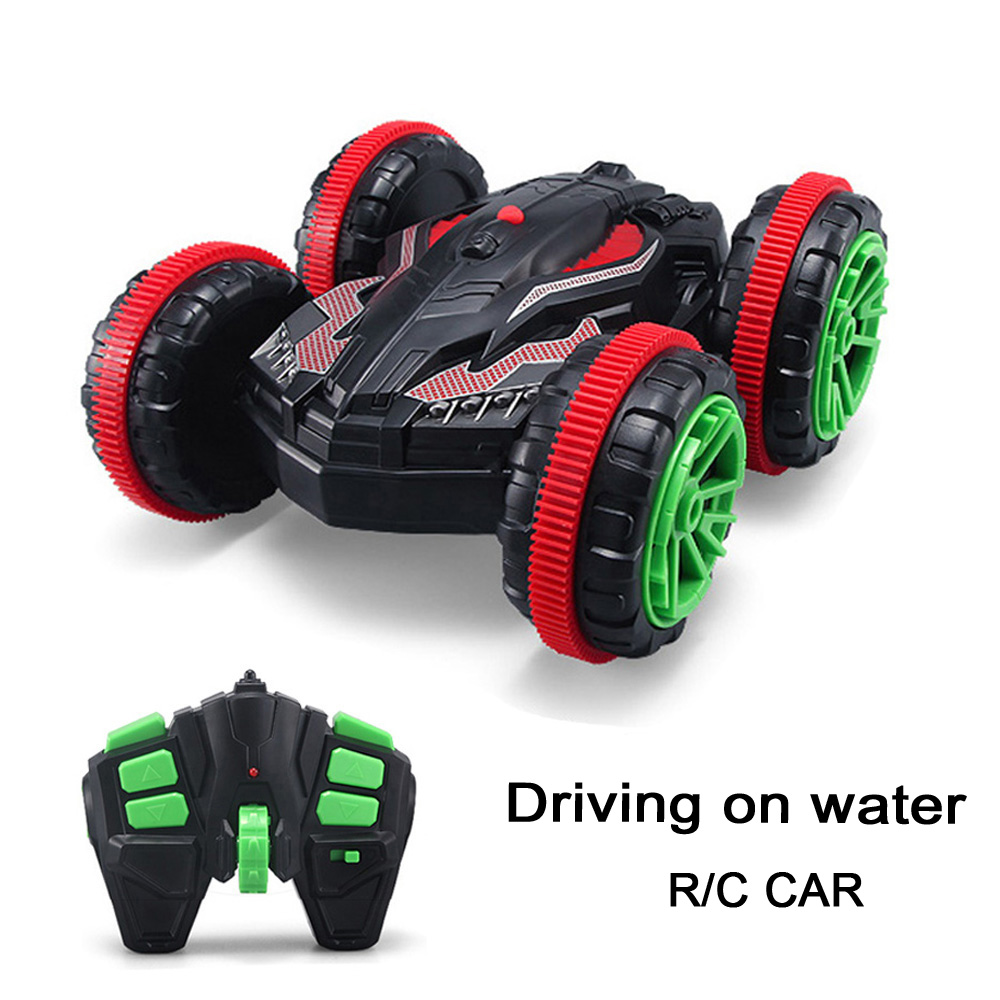 1:18 Nitro Rc Stunt Car Off road Buggy 2.4G 4wd Rc Drift Car Can Drive On Water Electric Remote Control Toy Model For Kids(China (Mainland))