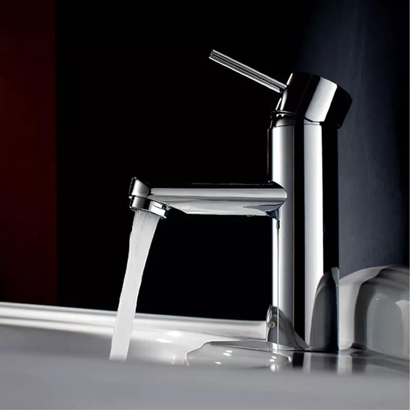 Купить БАКАЛА ванной смеситель крана керамический хром на одно отверстие ванной кран горячей и холодной водопроводной воды смеситель tapsFree доставка BR-9130