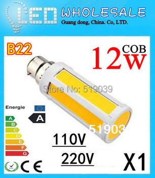 1X B22/E27/E14 LED Corn Bulb Light COB Lamp 7W /15W LED Spot Light Cool/Warm White 220V/110V Free Shipping