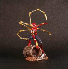 18cm Endgame 4 Vingadores Super Hero Spiderman SpiderMan Figuras de Ação PVC Toy Figura Collectible Modelo Brinquedos Para as crianças Do Homem Aranha(China)