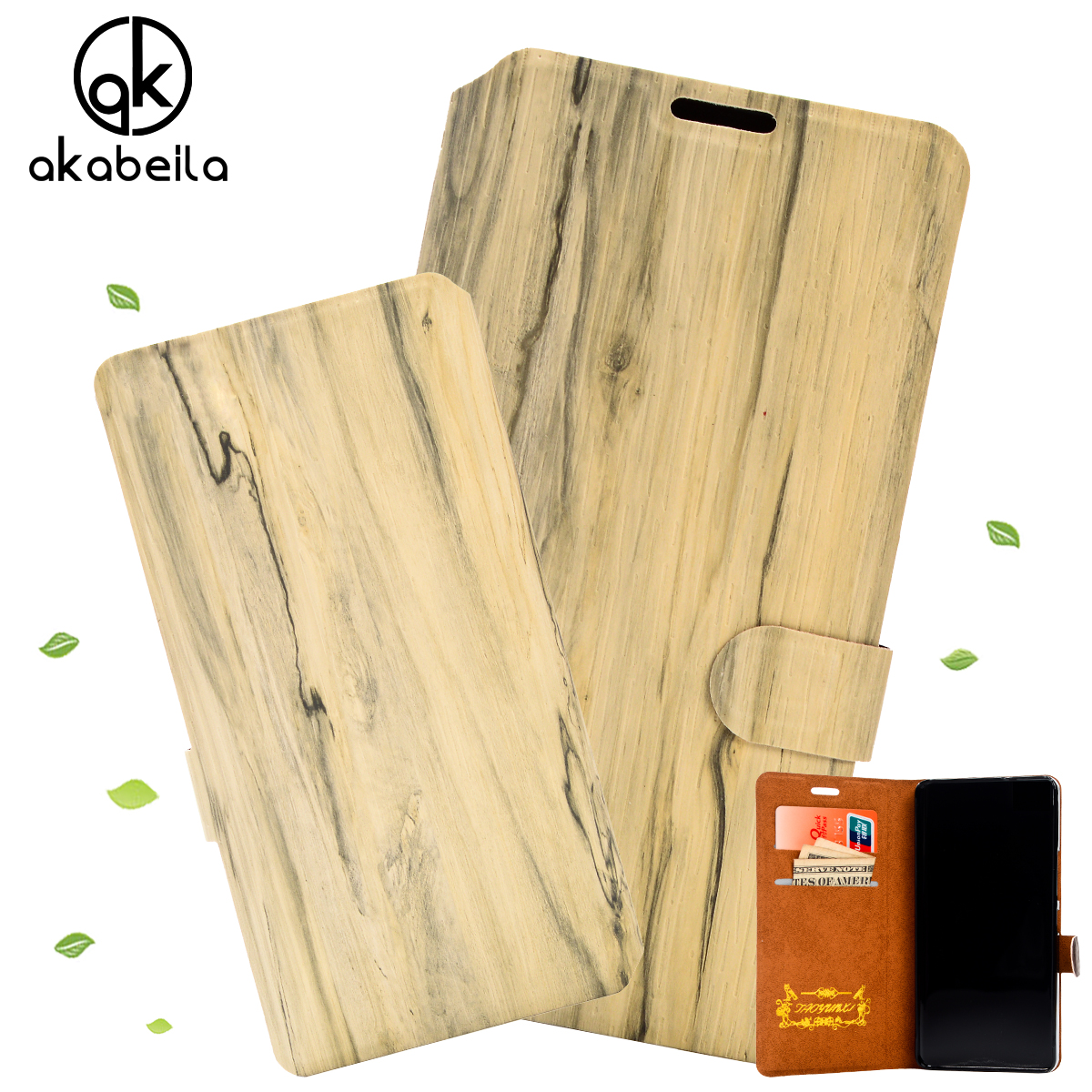 6 Colors Slim Wood Grain PU Leather Case for Samsung Galaxy SIII Mini I8190 S3 Mini 4 inch Wallet Style Fashion Flip Phone Cover(China (Mainland))