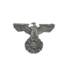 Perang Dunia II WW2 Bahasa Jerman Militer Cross Eagle Pin Cap Cock-Up Kerah Pin Tentara Elit Edelweiss Pasukan Kerajaan Bunga Luftwaffe Pin Lencana(China)