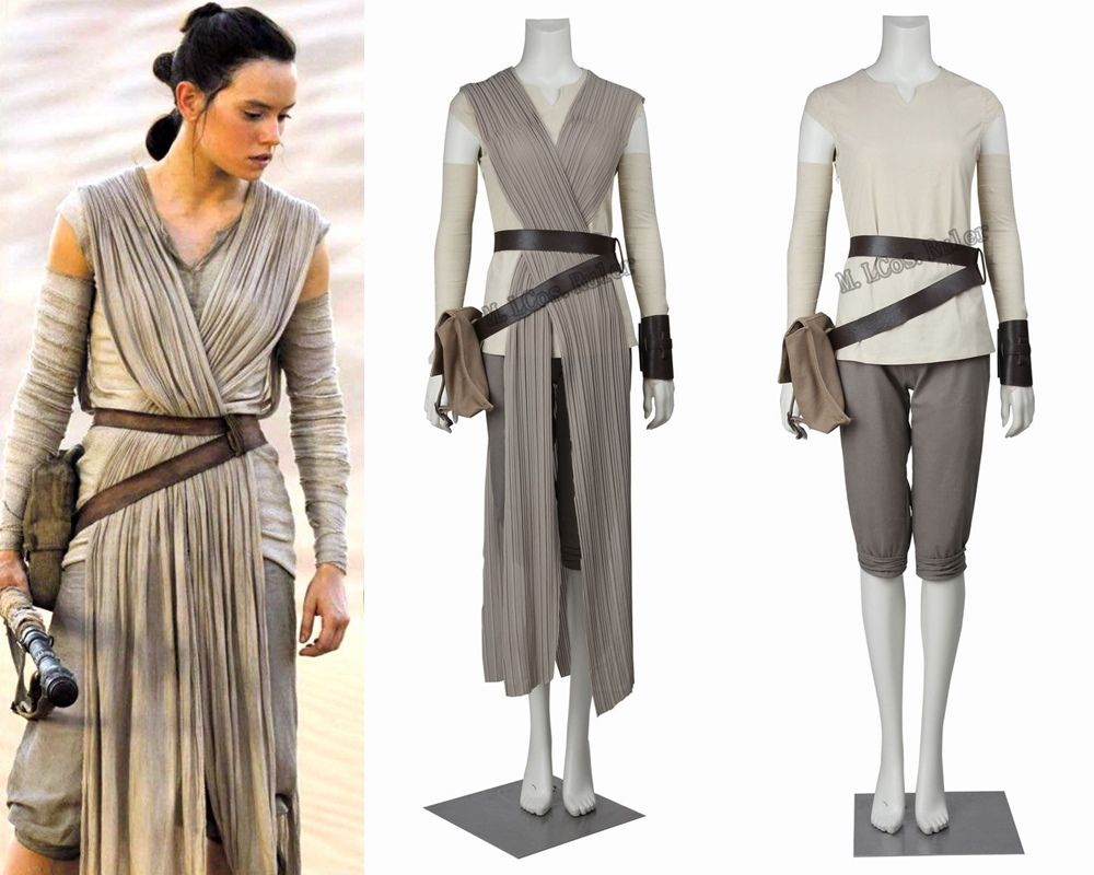 hot 2016 star wars costume adult the force awakens rey. Black Bedroom Furniture Sets. Home Design Ideas