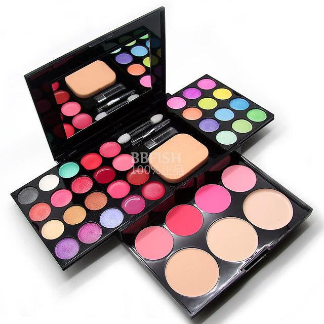 Make-up compact makeup palette 24 Eyeshadow  plate 8 lipstick 4 blush   Makeup Sets  maquiagem conjunto Makeup Kit  makeup set