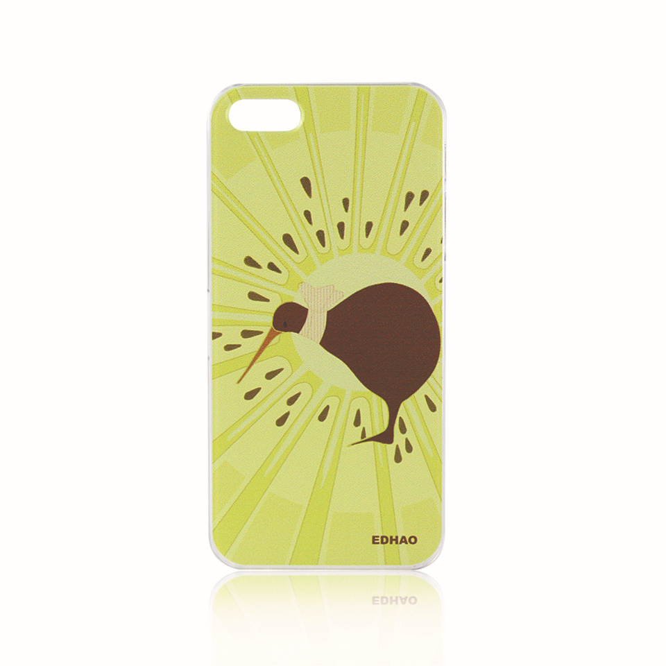Cool Hot kiwi fruit kiwi bird painting for iphone 5s Amazing phone case Good gift for her/him/BFF for iphone 5 for iphone5s(China (Mainland))