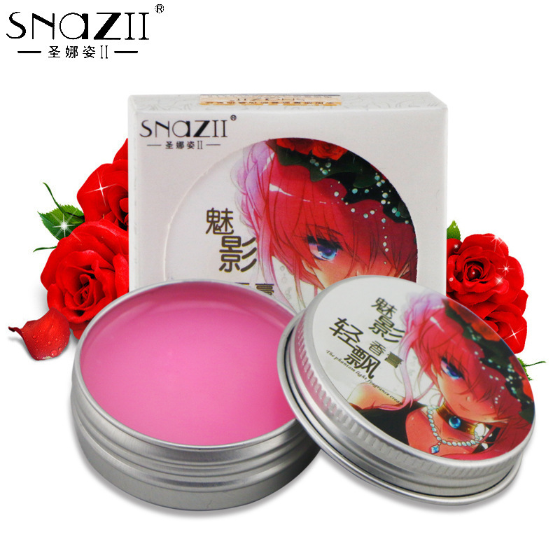 Free drop shipping Natural phantom light fragrance paste ladies solid lasting fragrant body balm 30g hot sale ZYG777(China (Mainland))