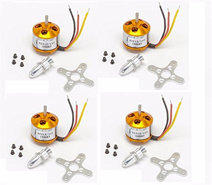 RC F450 QuadCopter Frame Kit + 4Pcs1000KV Brushless Motor + 4Pcs 30A ESC + 1045 Propeller Props + FPV Landing Skid Landing Gear