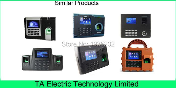 Биометрического распознавания отпечатков пальцев PT600 время посещения дешевый 02