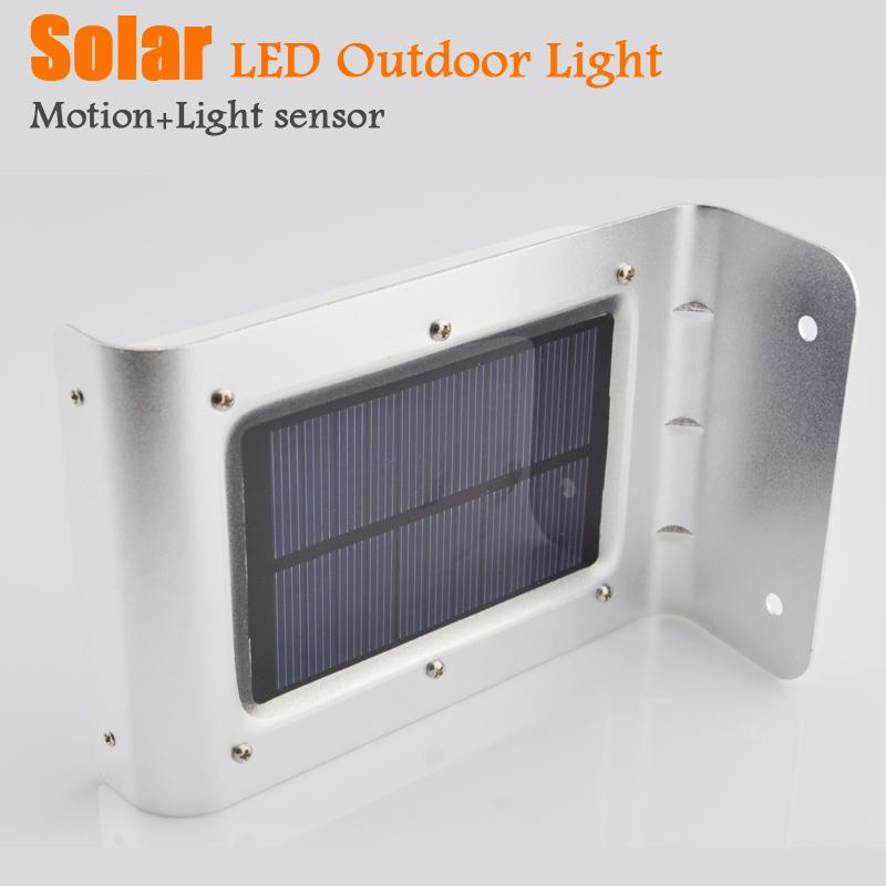 Solar lamps garden light motion sensor outdoor street wall - Focos led exterior solares ...