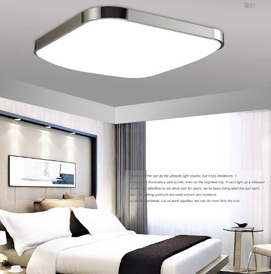 4PCS 79%OFF Modern LED Apple Ceiling ligh Square 24W 30CM led Ceiling Lamp kitchen light bedroom modern livingroom free shipping(China (Mainland))