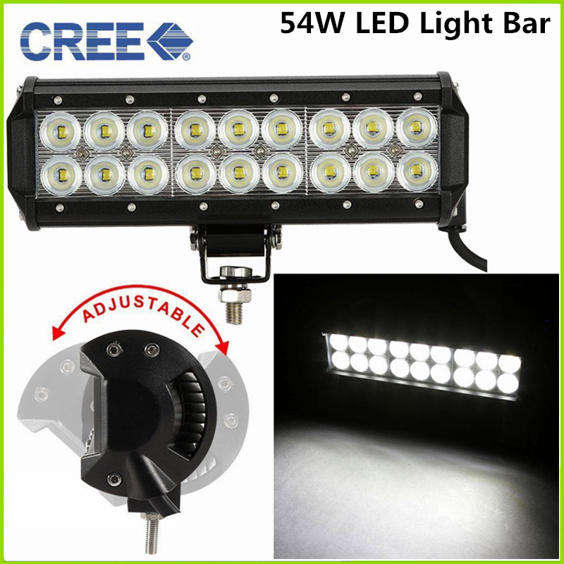 Free shipping Cree 72W LED Work Light Bar 12inch  5040LM Spot Flood Combo Beam 100% Waterproof<br><br>Aliexpress