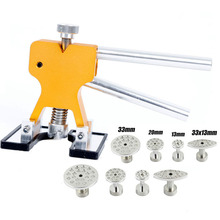 Paintless Dent Repair Removal Tools PDR Tool PDR Dent Golden Glue Puller Hand Lifter with Aluminum Glue Puller Tabs
