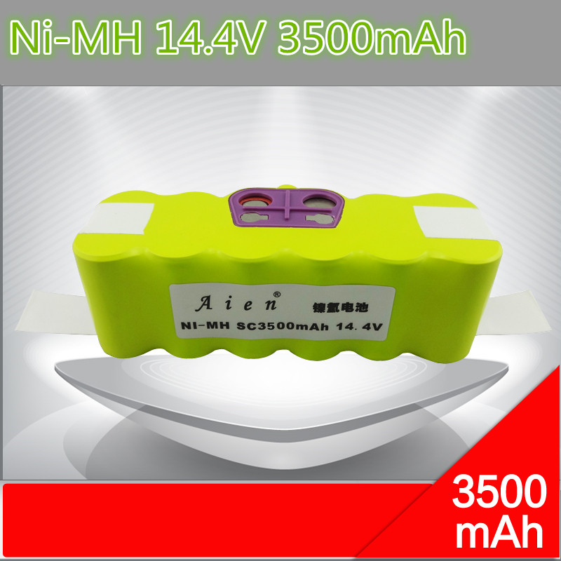 1 piece Robot Vacuum Cleaner Parts 14.4V 3500mAh NI-MH Battery Replacement for Irobot Roomba 780 610 570 560 550 500(China (Mainland))