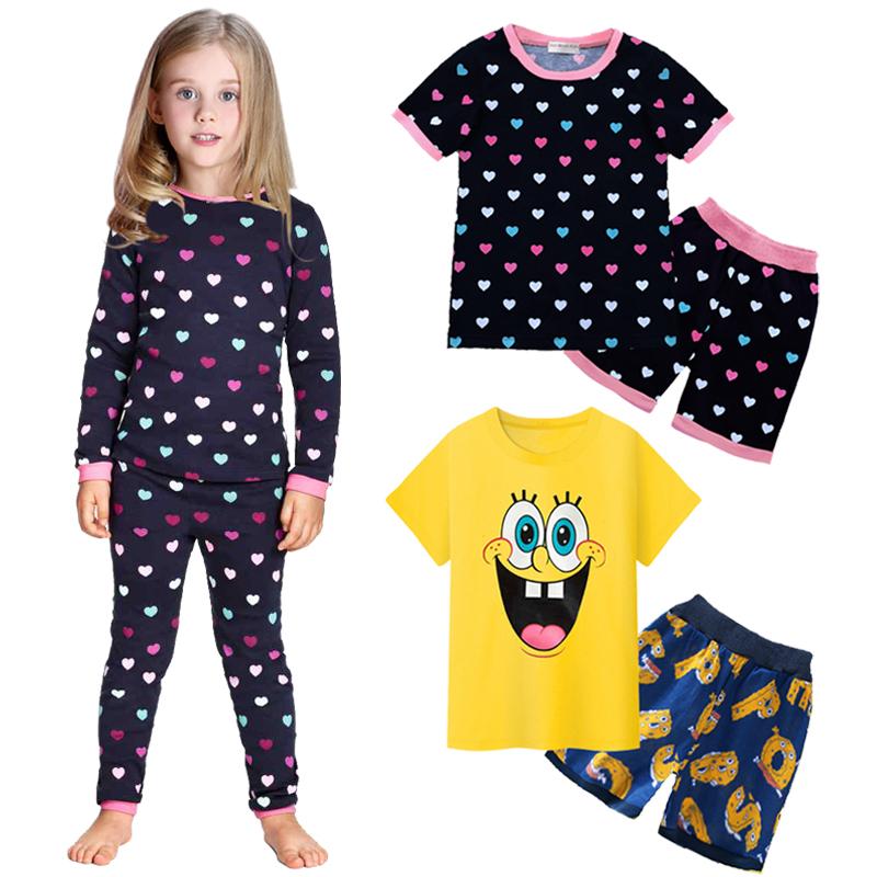 Pajamas kids Minions children clothing set summer spring baby girls boys sleepwear Despicable me pyjamas cotton pijamas costume(China (Mainland))