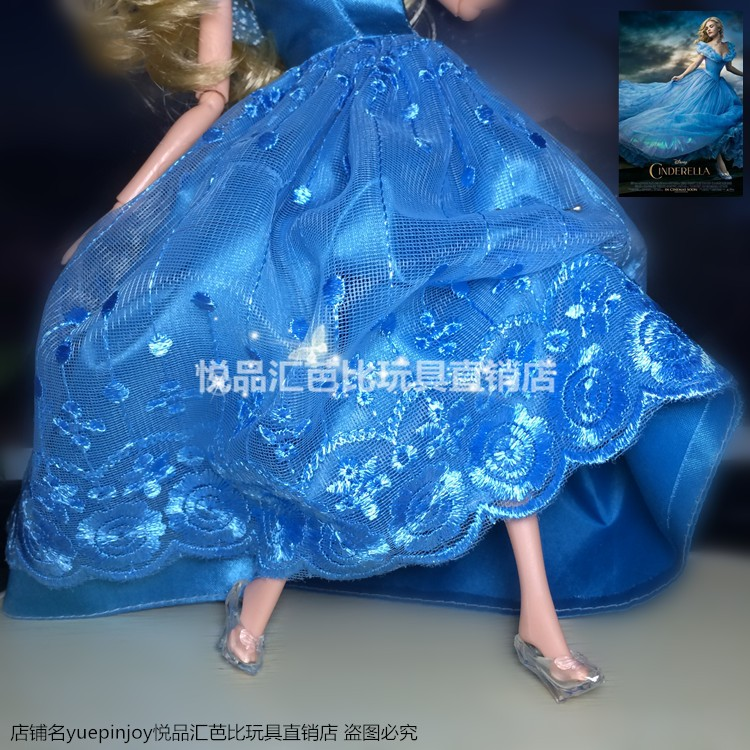 2016 new Party Wedding Dress Princess Dress Clothes Gown For Barbie doll,doll accessories blue dress for barbie,girls toys