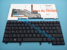 Free Shipping NEW French(Azerty) keyboard For DELL Latitude E6420 E6430 E6430S E6440 E5420M xt3 laptop French keyboard(China (Mainland))