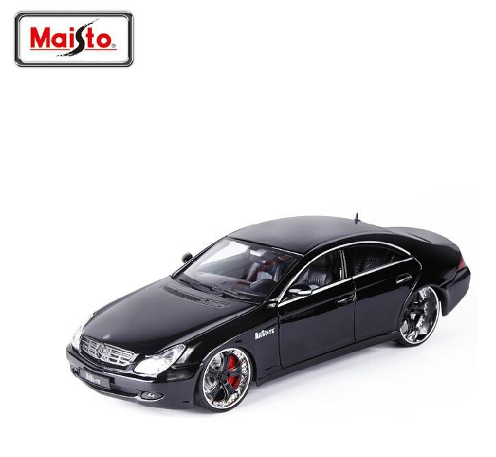Maisto1: 18CLS-Class model simulation alloy car models Original Collection Model