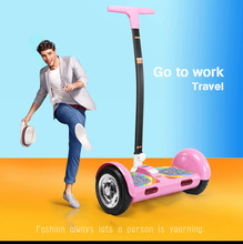 Buy 10 inch TT hoverboard Handle Bar Self Balancing Scooters Two Wheel Skateboard Smart Balance electric scooter Bluetooth Speaker for $295.26 in AliExpress store