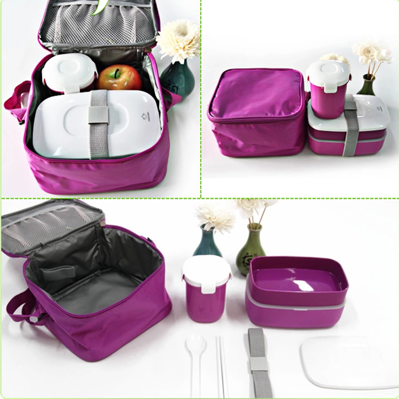 high quality japanese bento lunch box w water soup mug insulated lunch. Black Bedroom Furniture Sets. Home Design Ideas